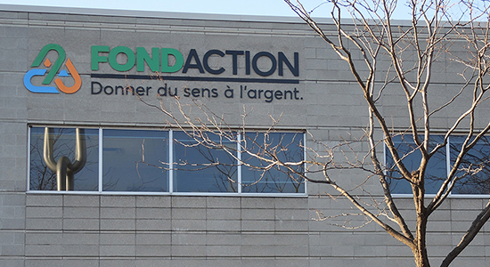 Fondaction atteint un actif net de plus de deux milliards de dollars