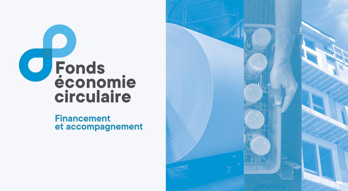 Lancement du Fonds économie circulaire