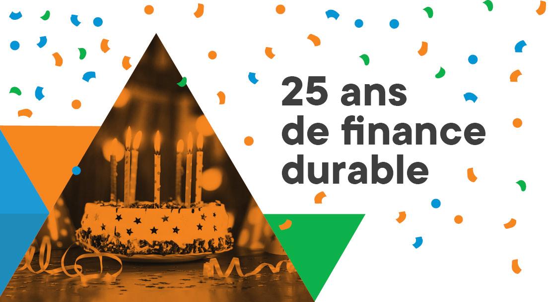 25 ans de finance durable